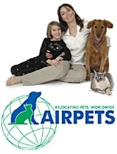 Relocating Pets Worldwide, Airpets